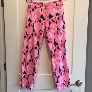 Lilly Pulitzer Flamingo Pants